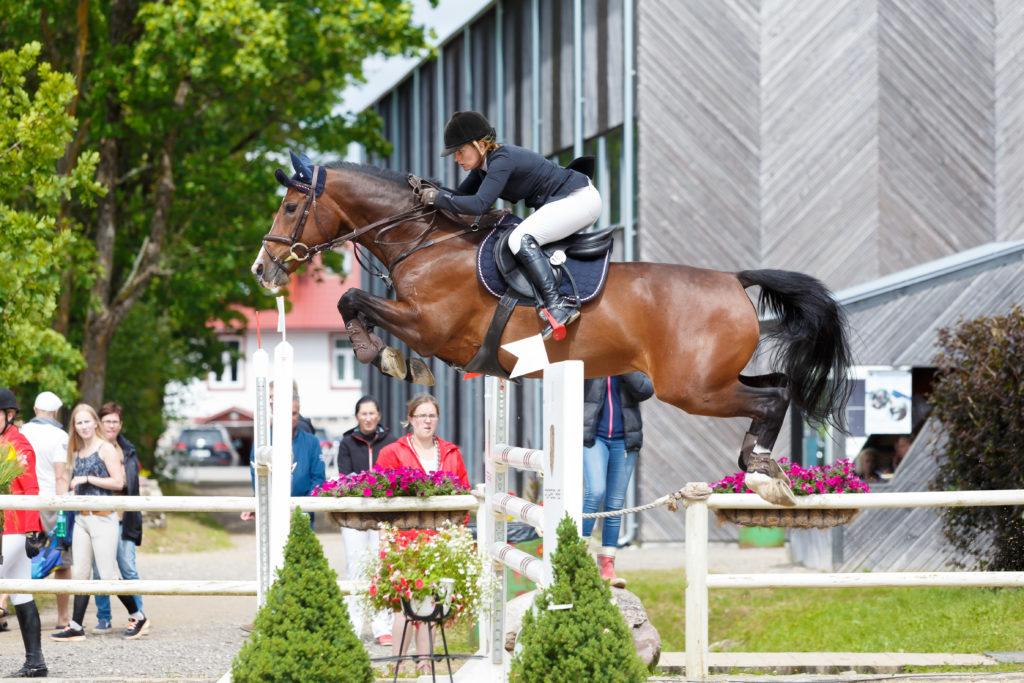 Jessica Aminoff - CATHELLA @ Cavalor Baltic Summer Cup, 17.07.2016 © Author: Kylli Tedre / www.kyllitedre.com