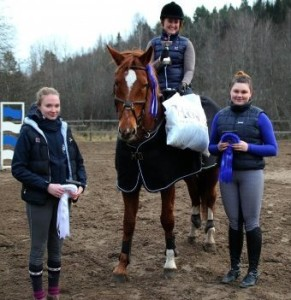 Kuvassa/På foto: Sofia, Susanne, Janna-Mari